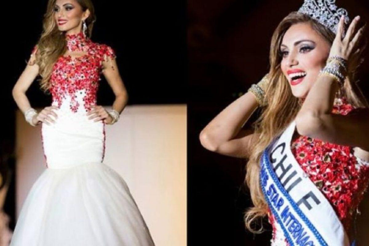 El concurso dedicado a exaltar la belleza de las personas transgénero, eligió a la chilena de entre las 25 finalistas de todo el mundo. Foto:acebook.com/MISS-TRANS-STAR-Internacional-official. Imagen Por: