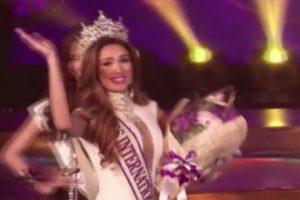 """Se llevó el primer premio de la edición de 2014 de """"Miss International Queen"""", que se realizó en Tailandia. Imagen Por:"""