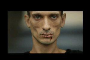 Y la manera en que este controla el territorio. Foto:Vía facebook.com/Petr-Pavlensky. Imagen Por: