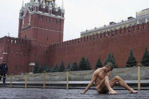 Todo depende de lo que se le acuse. Foto:Vía facebook.com/Petr-Pavlensky. Imagen Por: