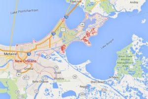 El hombre vivía en Nueva Orleans. Foto:Vía Google Maps. Imagen Por: