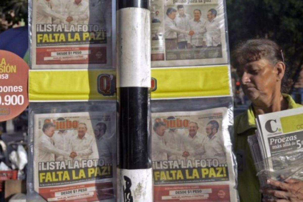 5. La terminación de las hostilidades, de acuerdo con el DIH, considera la amnistía más amplia posible por delitos políticos y conexos. Foto:vía AFP. Imagen Por: