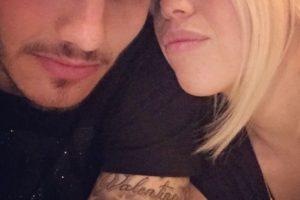 Icardi, de entonces 20 años, conoció a la modelo porque compartía vestuario con López en la Sampdoria de Italia. Foto:Vía instagram.com/wanditanara. Imagen Por: