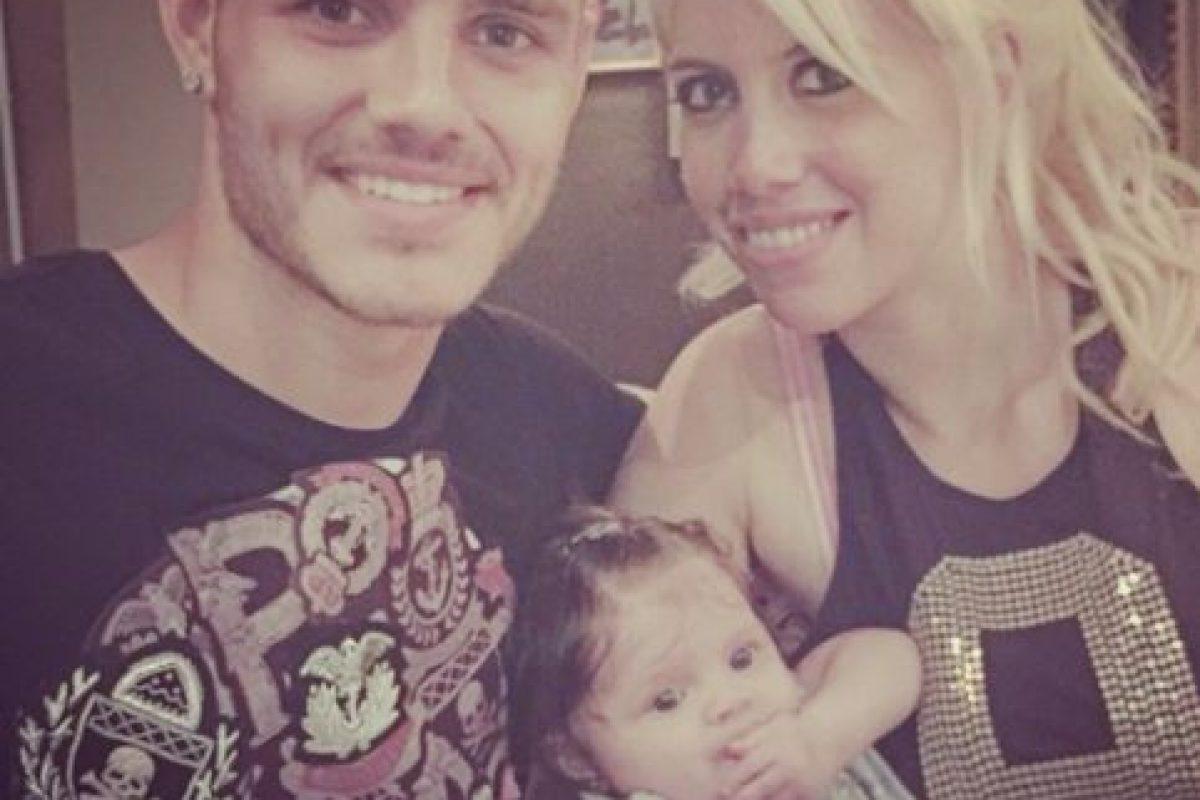 En enero de 2015 nació Francesca, la primera hija de ambos. Foto:Vía instagram.com/wanditanara. Imagen Por: