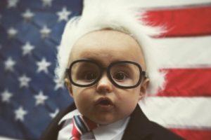 Otra propaganda divertidas fue la de #babiesforbernie Foto:Vía Instagram @lafr3d. Imagen Por: