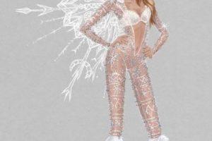 """Y este conjunto muy al estilo de la """"reina de las nieves"""". Foto:Victoria's Secret. Imagen Por:"""