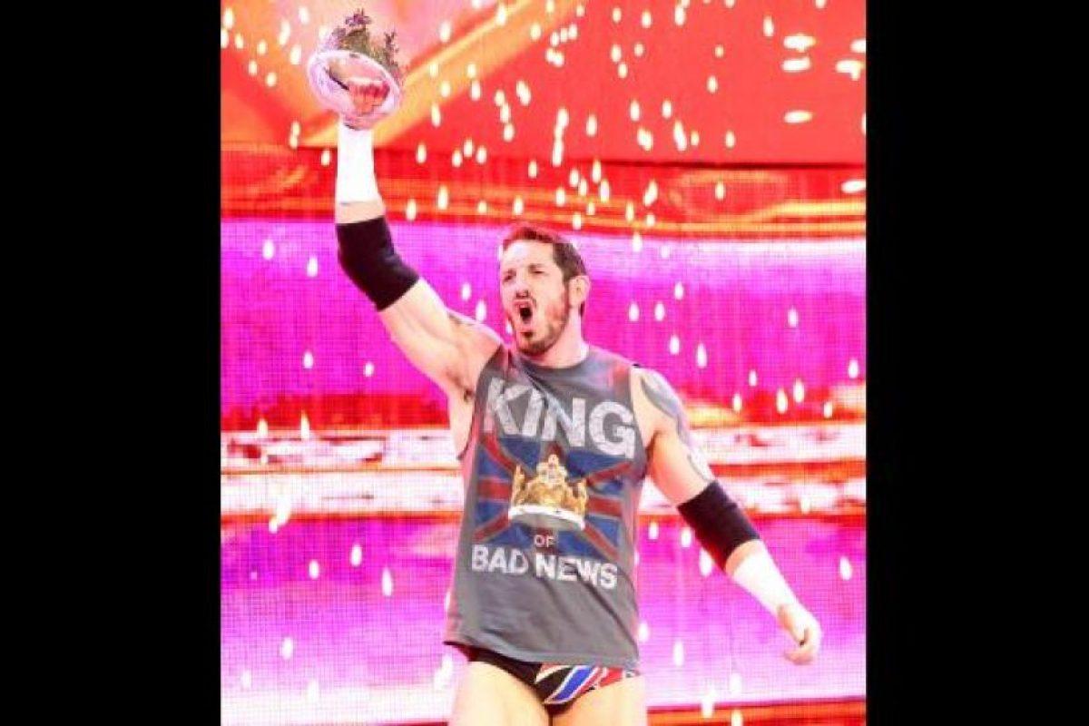 King Barrett Ha peleado como Stu Sanders, King Barrett, Bad News Barrett y Wade Barrett Foto:WWE. Imagen Por: