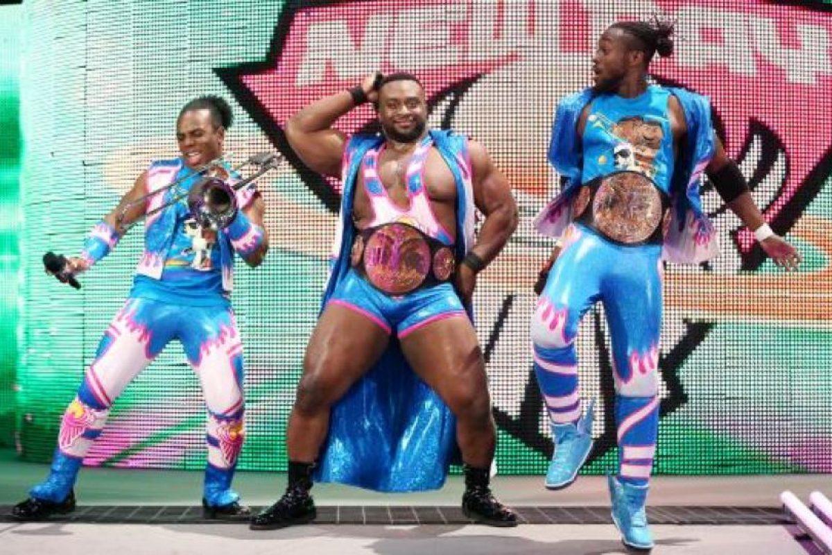 El trío formado por Kofi Kingston, Big E y Xavier Woods son buenos peleando, pero no tanto escogiendo su ropa. Foto:WWE. Imagen Por: