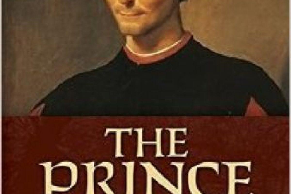 """""""El Príncipe"""" de Nicolás Maquiavelo Foto: Wikimedia.org. Imagen Por:"""