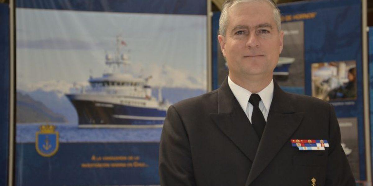 Director del SHOA recibe premio por su contribución a la hidrografía mundial