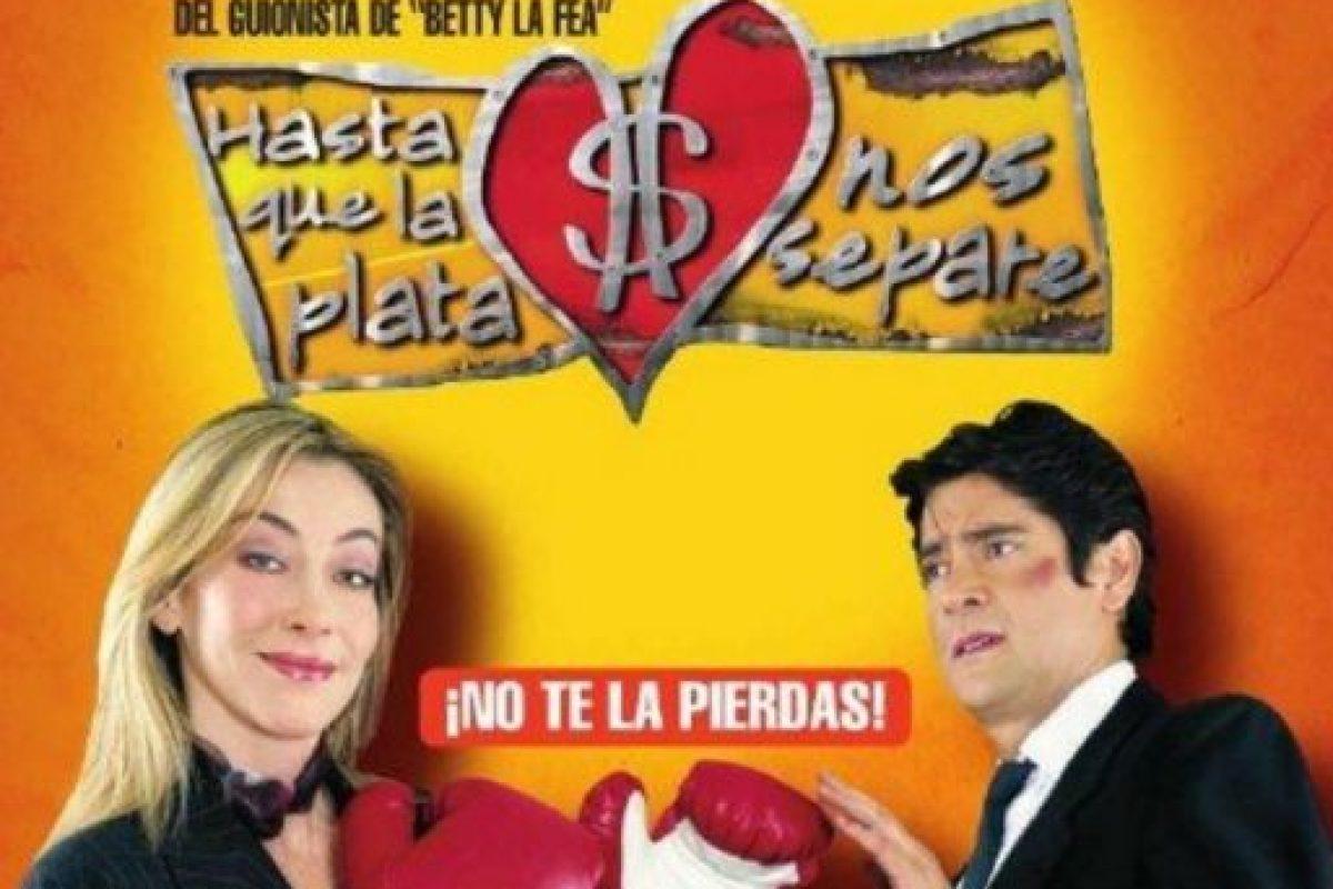 """4- """"Hasta que la plata nos separe"""". Primer episodio: 22 de mayo de 2006. Foto:RCN Televisión. Imagen Por:"""