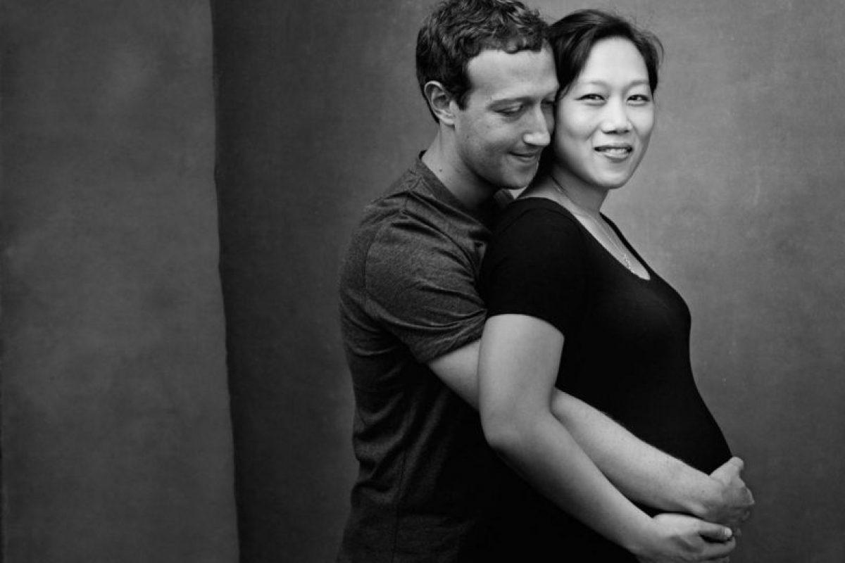 Esperan a su primera hija. Foto:facebook.com/zuck. Imagen Por: