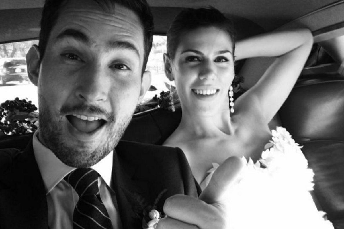 La pareja contrajo matrimonio recientemente. Foto:instagram.com/kevin. Imagen Por: