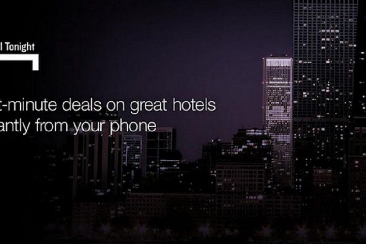 Pueden reservar habitaciones para esta misma noche. Foto:Hotel Tonight. Imagen Por: