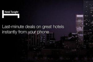 La app está disponible para iOS, Android y Windows Phone. Foto:Hotel Tonight. Imagen Por: