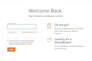 Spideroak es un sitio que donde pueden almacenar documentos con sólo abrir una cuenta. Foto:vía spideroak.com. Imagen Por: