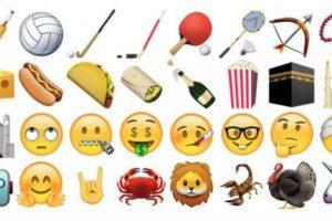 Ahora ya podrán tener los nuevos emojis en su smartphone. Foto:Apple. Imagen Por: