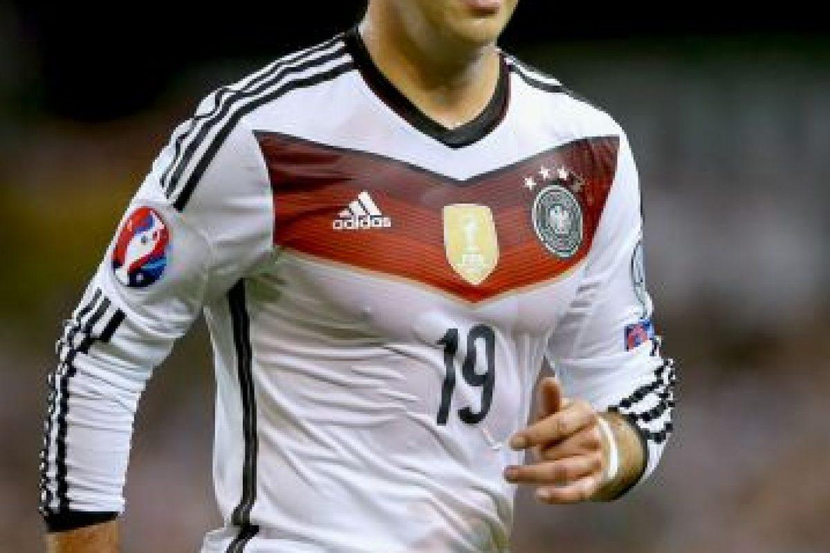 10. Mario Götze. El alemán entra en el top-ten Foto:Getty Images. Imagen Por: