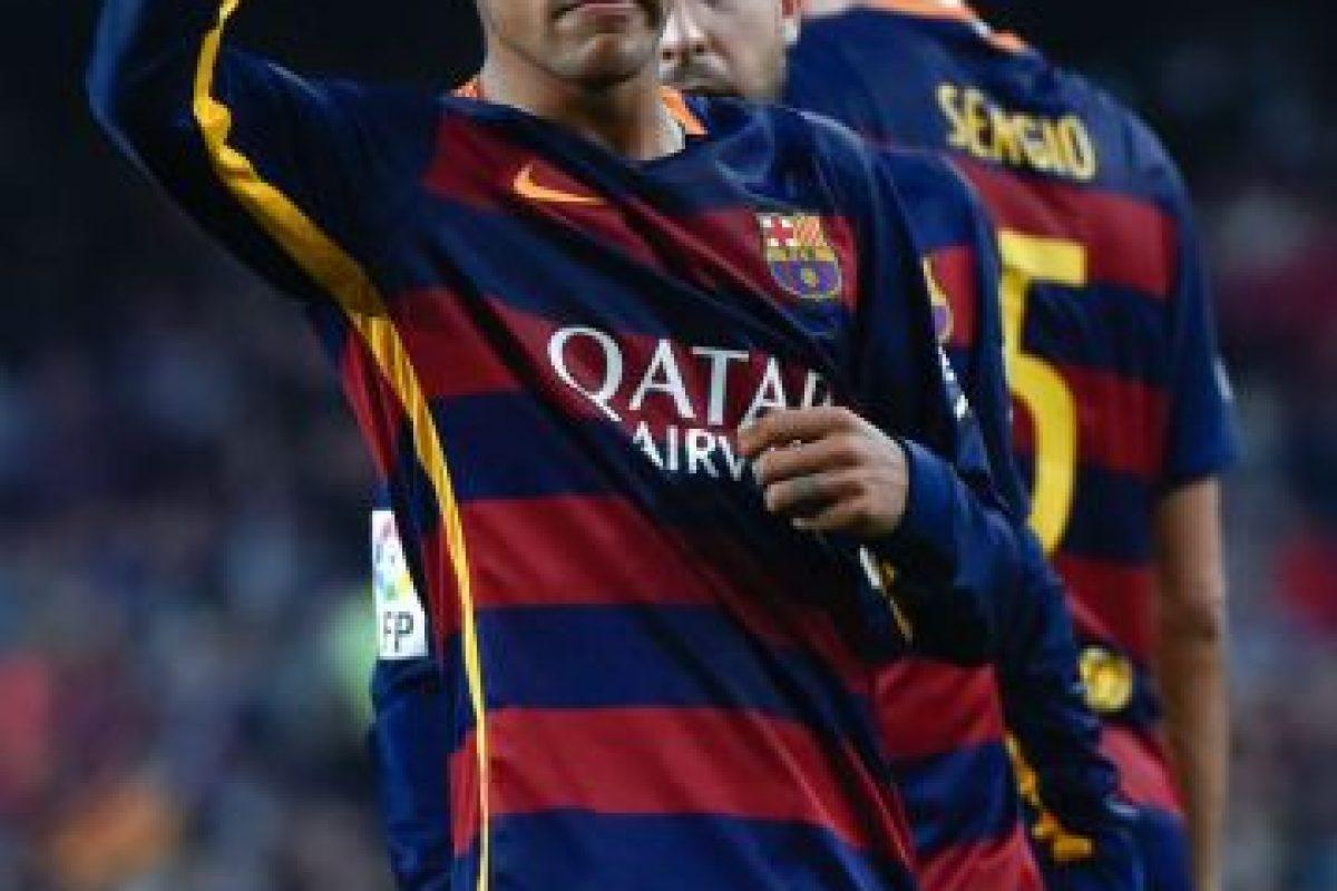 """""""Ney"""" es el actual máximo goleador de la Liga de España Foto:Getty Images. Imagen Por:"""