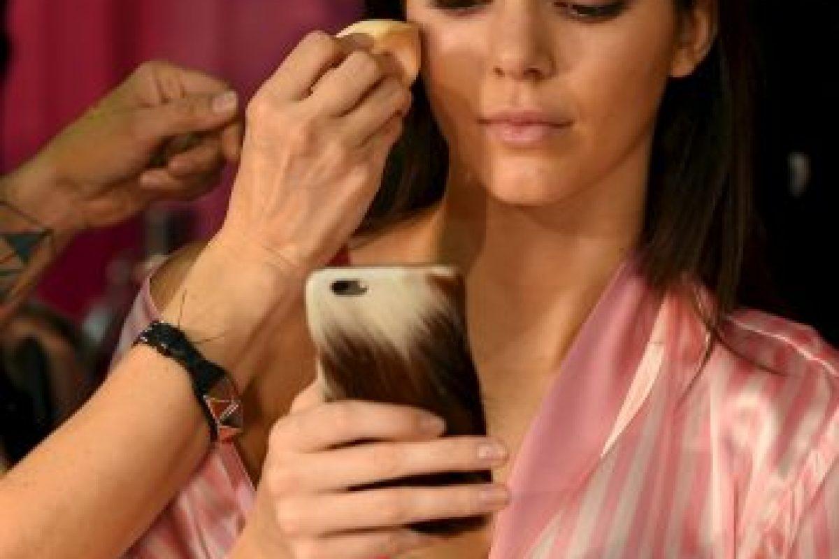La reina de redes como Instagram no podía perder detalle Foto:Getty Images. Imagen Por: