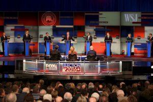 Los principales precandidatos se enfrentaron por cuarta ocasión. Foto:Getty Images. Imagen Por: