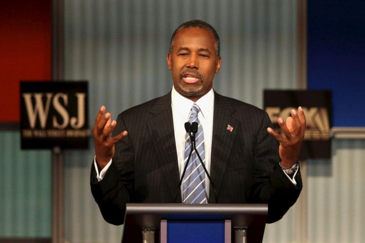 Ben Carson bromeó sobre las indagaciones que se han hecho recientemente sobre su pasado. Foto:Getty Images. Imagen Por: