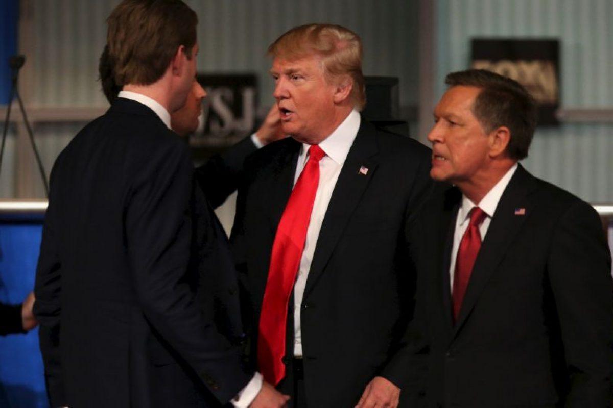 Donald Trump se reafirmó en sus posturas de inmigración y del salario mínimo. Foto:Getty Images. Imagen Por: