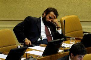 """Se excusó diciendo que """"siempre he dormido solo cuatro horas"""" Foto:Agencia Uno. Imagen Por:"""