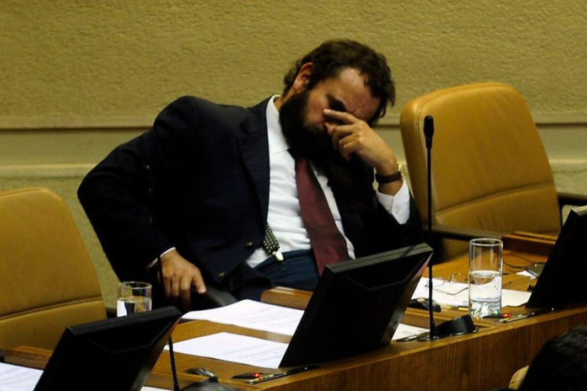 Aquí aparece durmiendo Foto:Agencia Uno. Imagen Por: