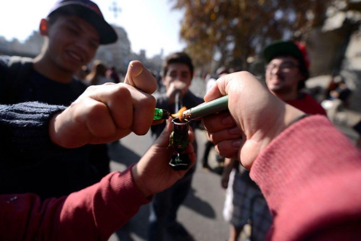 """3- """"El consumo de drogas en lugares públicos no puede ser sancionado con presidio (cárcel), pero sí puede ser sancionado con tres tipos de pena"""", explica la abogada Foto:Agencia Uno. Imagen Por:"""