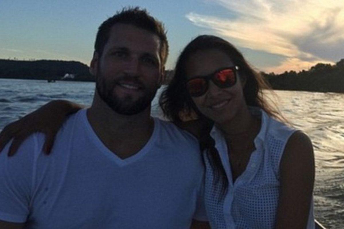 Su novio es la estrella de la NBA Jared Homan Foto:Vía Instagram. Imagen Por: