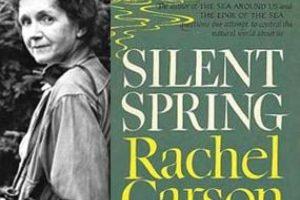 """Primavera silenciosa"" de Rachel Carson Foto:Amazon.com. Imagen Por:"