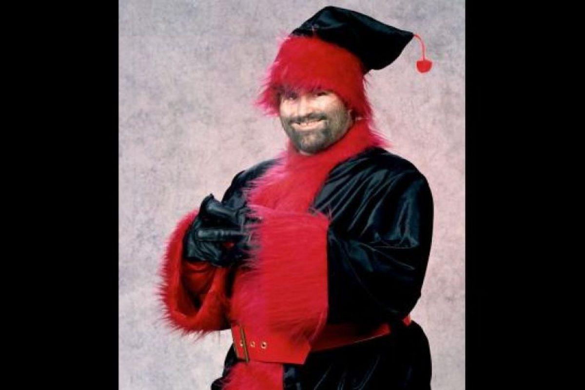 14. Xanta Klaus / El representante de la Navidad en los cuadriláteros de la WWE. Foto:WWE. Imagen Por: