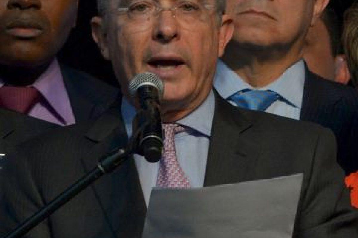 Álvaro Uribe, expresidente de Colombia Foto:AFP. Imagen Por: