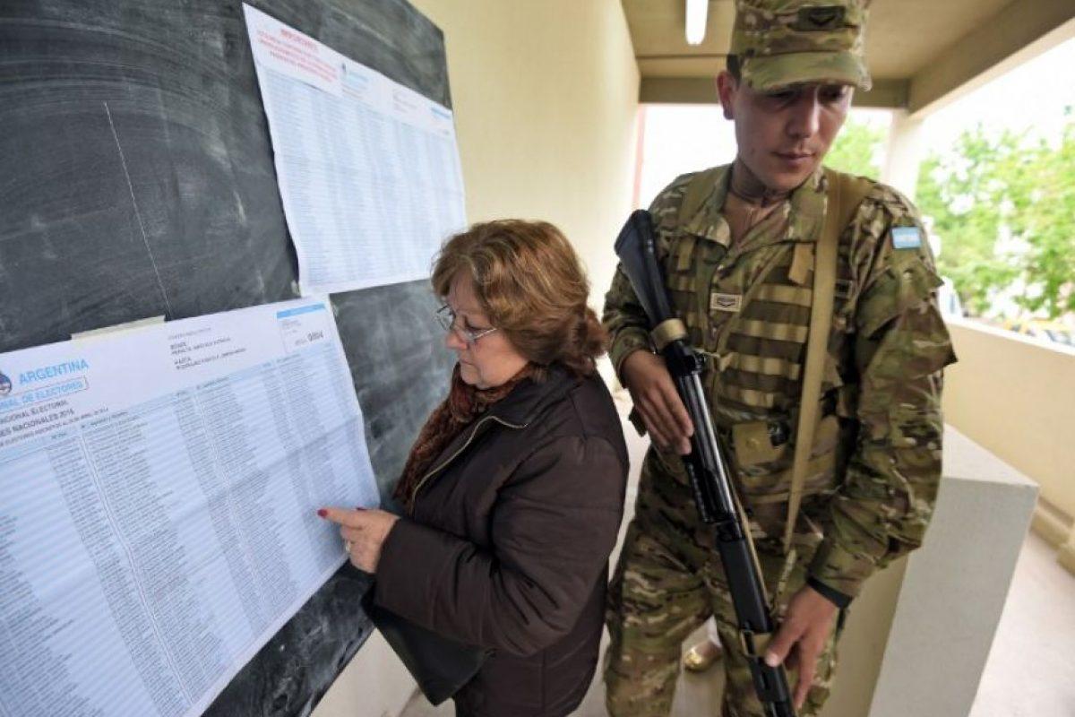 Pero para Roberto Bacman, del Centro de Estudios de Opinión Pública, esto se debió a una decisión de última hora Foto:AFP. Imagen Por: