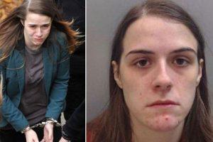 Los gritos de Gayle Newland tras conocer la sentencia obligaron a la policía a sacarla a rastras del tribunal Foto:Reproducción. Imagen Por: