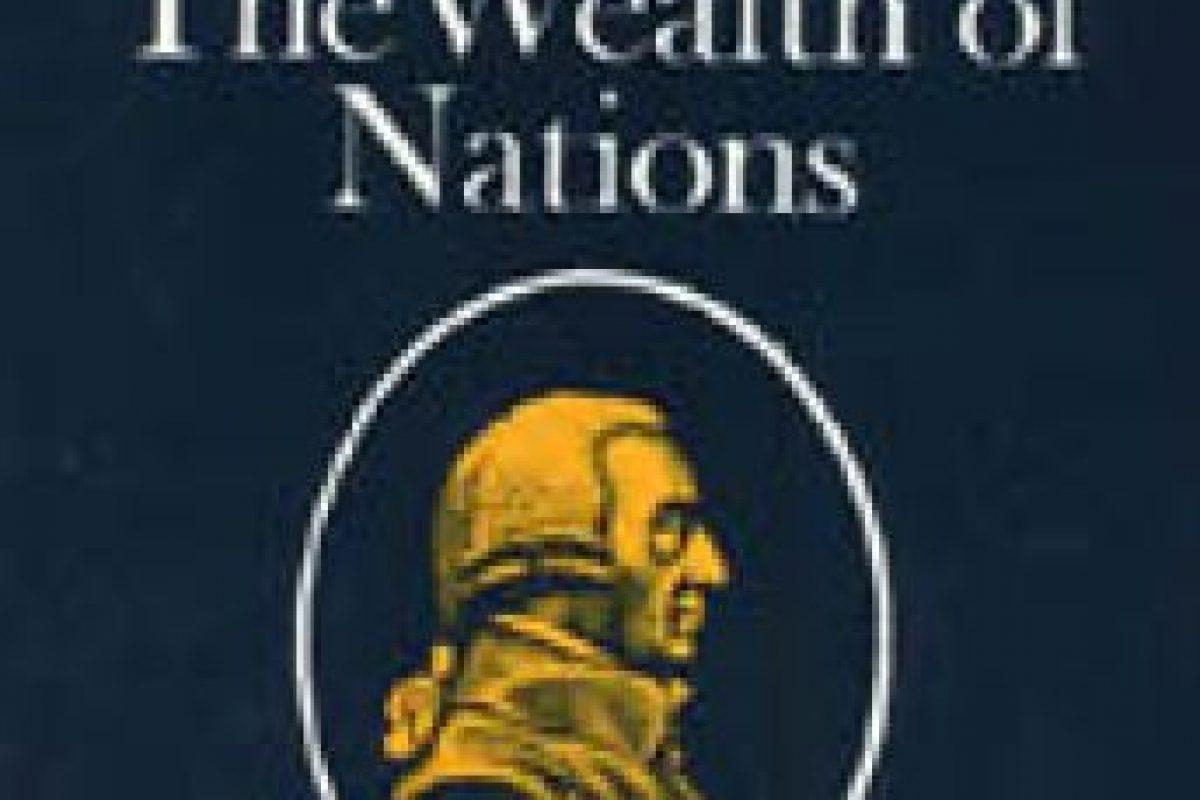 """""""La riqueza de las naciones"""" de Adam Smith Foto:Wikimedia.org. Imagen Por:"""