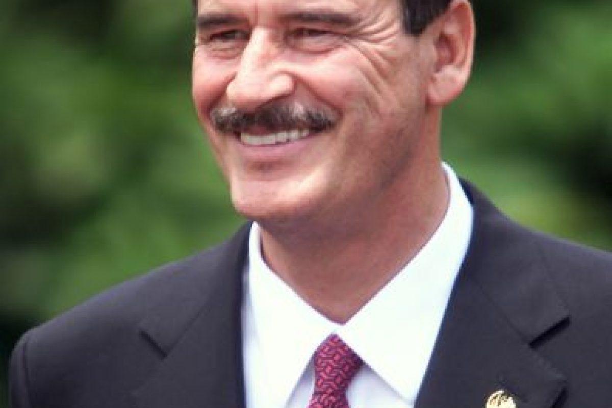 Vicente Fox, presidente de México de 2000 a 2006 Foto:Getty Images. Imagen Por: