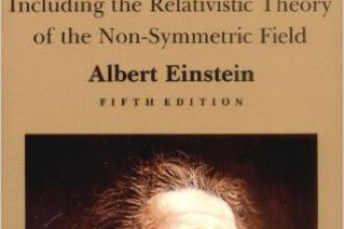 """""""El significado de la Relatividad"""" de Albert Einstein Foto:Amazon.com. Imagen Por:"""