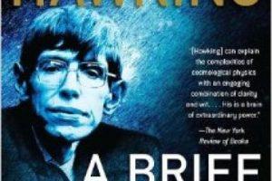 """""""Una breve historia del tiempo"""" de Stephen Hawking Foto:Amazon.com. Imagen Por:"""