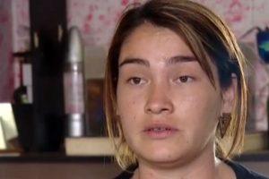 Vanessa, esposa del fallecido Foto:Chilevisión. Imagen Por: