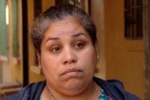 Una de las vecinas que denuncia a María Vilches Foto:Chilevisión. Imagen Por:
