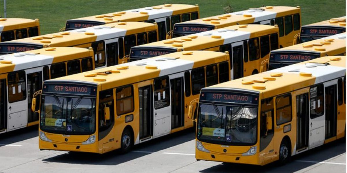 El novedoso cambio que presentan los nuevos buses del Transantiago