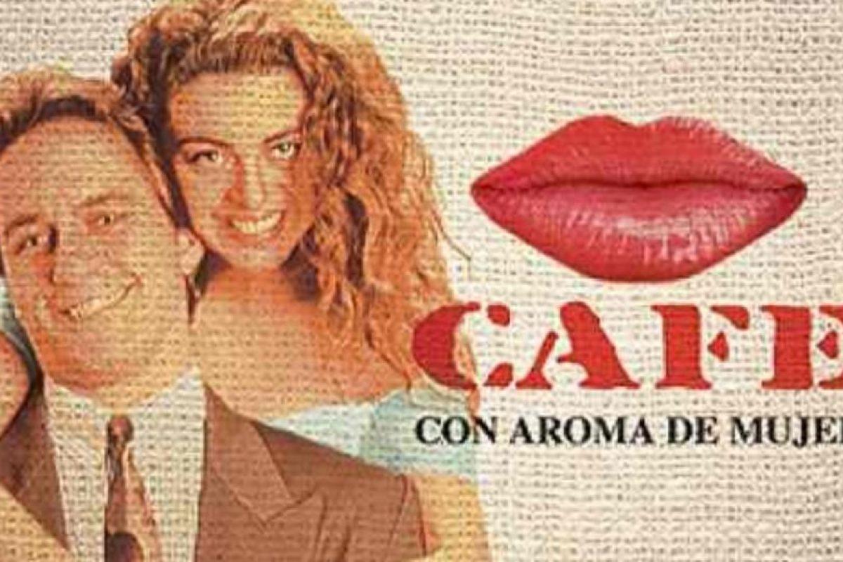 "2- ""Café, con aroma de mujer"". Primer episodio: 30 de noviembre de 1994. Foto:RCN Televisión. Imagen Por:"