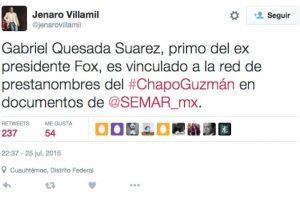 Foto:Twitter.com/JenaroVillamil – Periodista mexicano. Imagen Por: