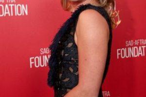 La actriz Elisabeth Rohm cayó al suelo en la fiesta de los premios Oscar en 2014. Foto:Getty Images. Imagen Por: