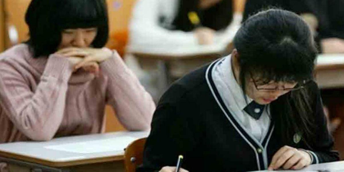 ¿Qué país casi se paraliza por los exámenes de entrada a la universidad?