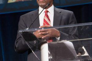 Ben Carson fue uno de los focos de atención del cuarto debate republicano. Foto:Getty Images. Imagen Por: