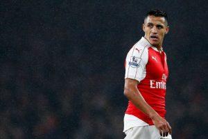 El delantero chileno del Arsenal Foto:Getty Images. Imagen Por: