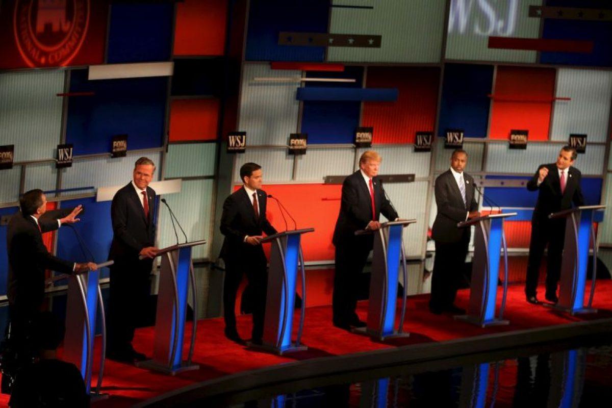 También Marco Rubio, Ted Cruz , Carly Fiorina, Jeb Buch y John Kasich. Foto:Getty Images. Imagen Por: